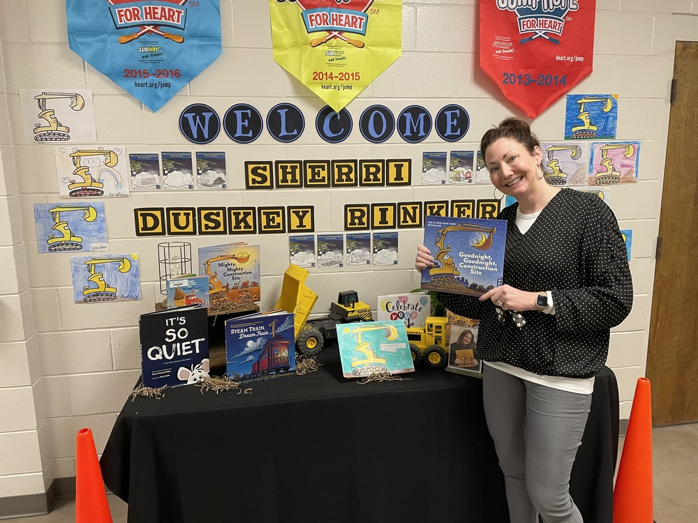 Sherri Duskey Rinker Author Visit